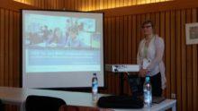 """Foto von Gabriele Fahrenkrog für OERfinfo unter CC BY 4.0: """"Workshop von Franziska Frost zur Nutzung von OER für den MINT-Unterricht am Beispiel des Medienportals"""""""
