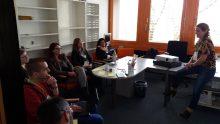 """Foto von Gabriele Fahrenkrog für OERfinfo unter CC BY 4.0: Workshop von Alexandra Hessler zu """"Argumente für OER"""""""